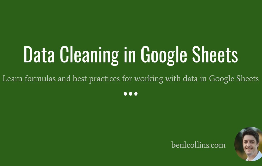 Data Cleaning in Google Sheets