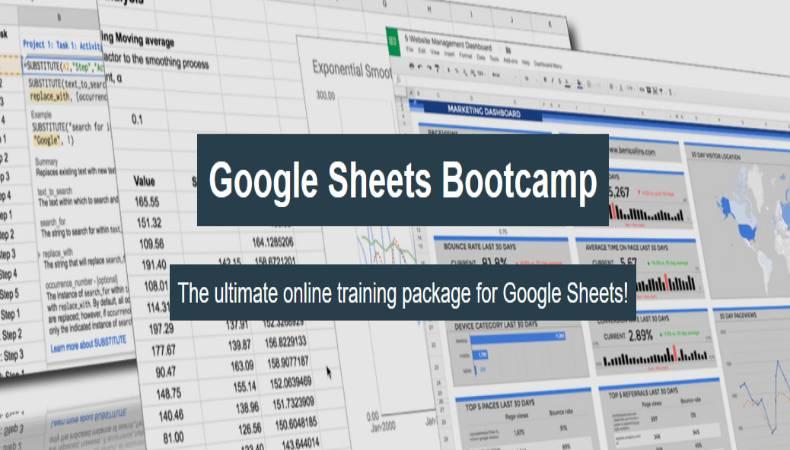 Google Sheets Bootcamp
