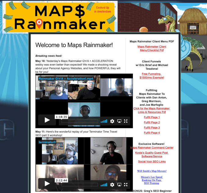 Maps Rainmaker 2021